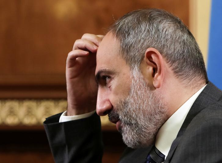 Nikol Pasinjan örmény kormányfő