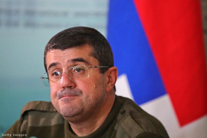 Araik Harutjunjan, Hegyi-Karabah miniszterelnöke