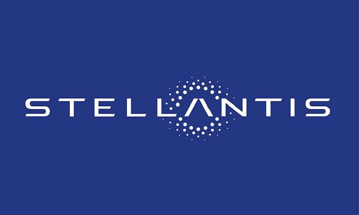 Stellantis logo blue