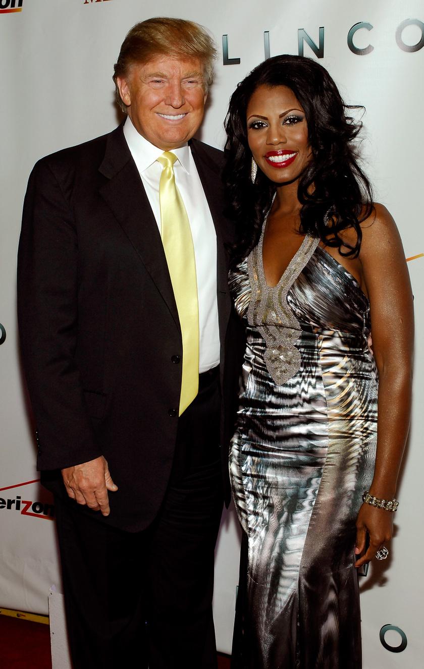 Omarosa Manigault Newman (jobbra) szerint Donald és Melania házassága nem tart már sokáig.