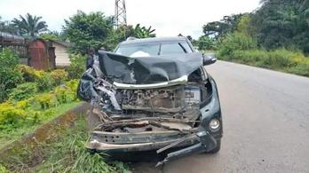 Brutális autóbalesetet élt túl Samuel Eto'o