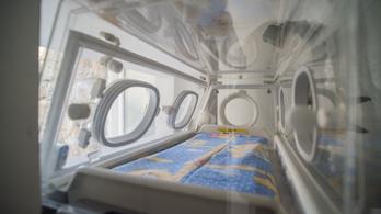 Csecsemőt hagytak a szombathelyi kórház inkubátorában