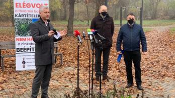 A Fidesz tiltakozik a volt cinkotai strand beépítése ellen