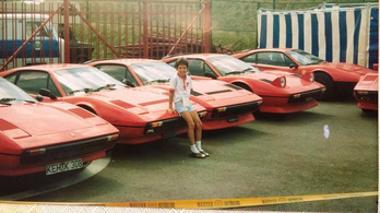 Ferrari-találkozók a kilencvenes évek elején, Magyarországon