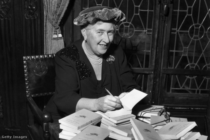 Agatha Christie 1950 körül