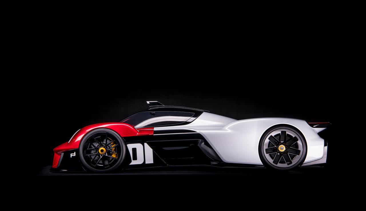 Ez a legextrémebb koncepció, amit az elmúlt években megálmodtak a Porsche szakemberei.