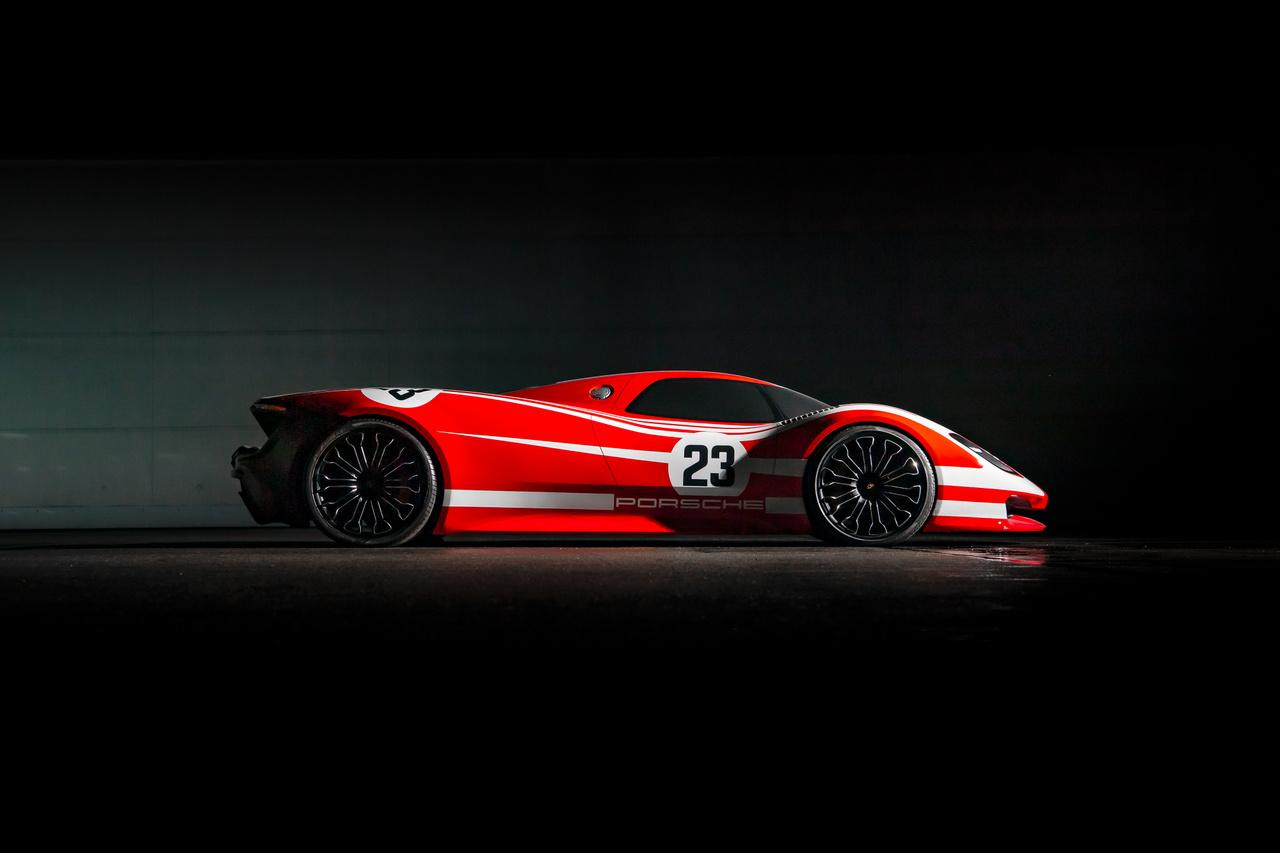 A 917 ötvenedik évfordulója alkalmából mutatták meg a nagyközönségnek 2019-ben, a Porsche Múzeumban.