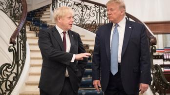 Boris Johnson véletlenül Donald Trumpnak is gratulált Joe Biden mellett
