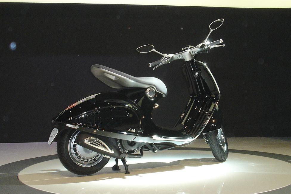 2013 közepétől kapható a szépséges Vespa 946