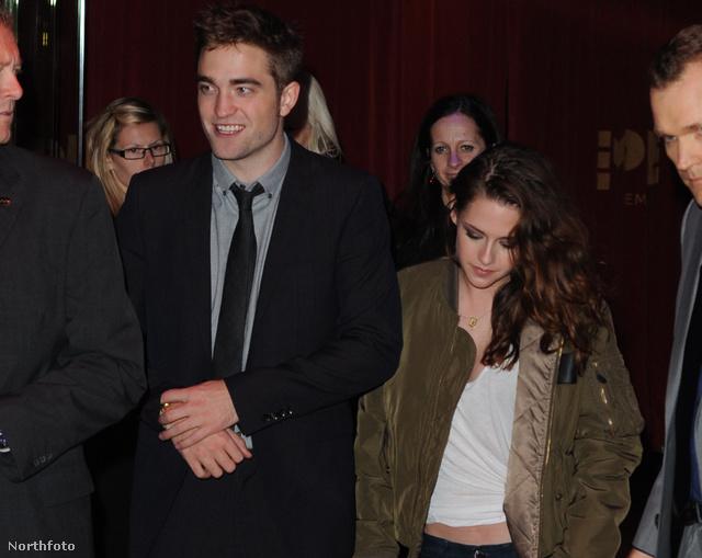 Kristen Stewart és Robert Pattinson szintén szerdán, Londonban