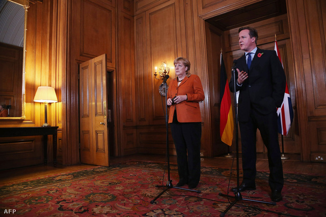 Angela Merkel és David Cameron