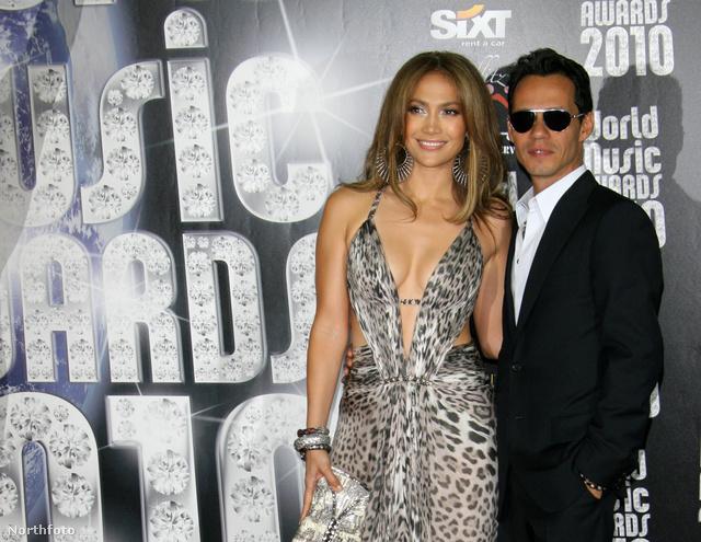 Marc Anthony és Jennifer Lopez. Már ők is elváltak.
