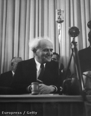 Ben Gurion 1948-ban