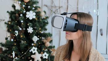 Virtuális valóság: karácsonykor bárhová, este nyolc óra után is elutazhatunk