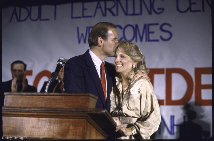 Joe és Jill Biden 1988-ban