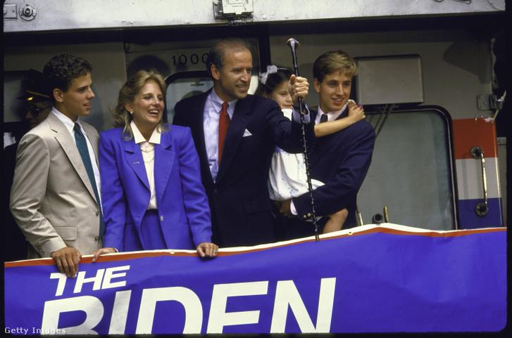 Joe Biden és családja 1987-ben
