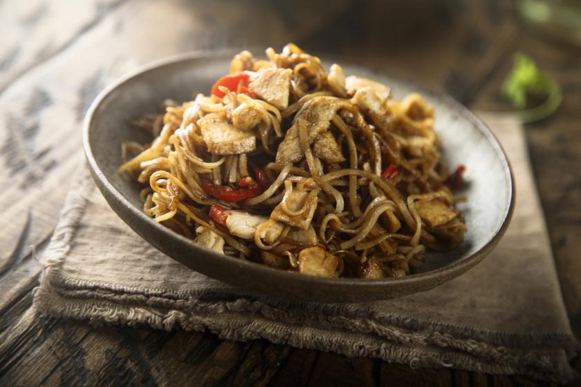 ázsiai rizstészta recept