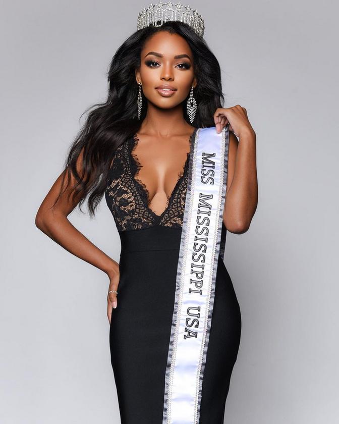Miss Branch természetesen nem Miss USA-ként kezdte a karrierjét: 2018-ban Mississippimnek választották meg.