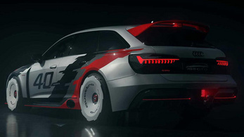 RS6 GTO: szép múltidézés az Auditól