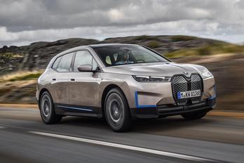 Megmutatták a BMW következő villanyautóját