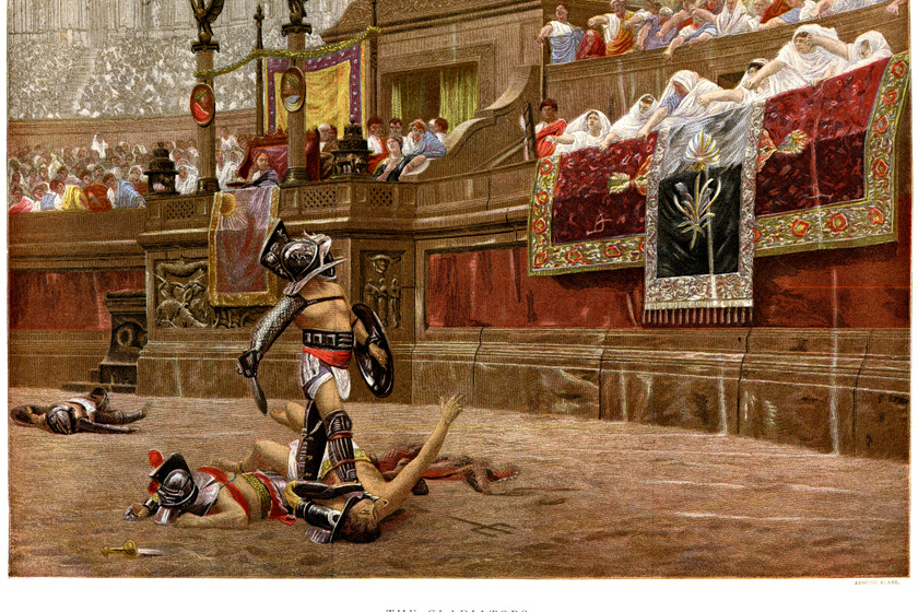 Gondoltad volna, hogy a gladiátorok alig ettek húst? Árpaevő volt a gúnynevük
