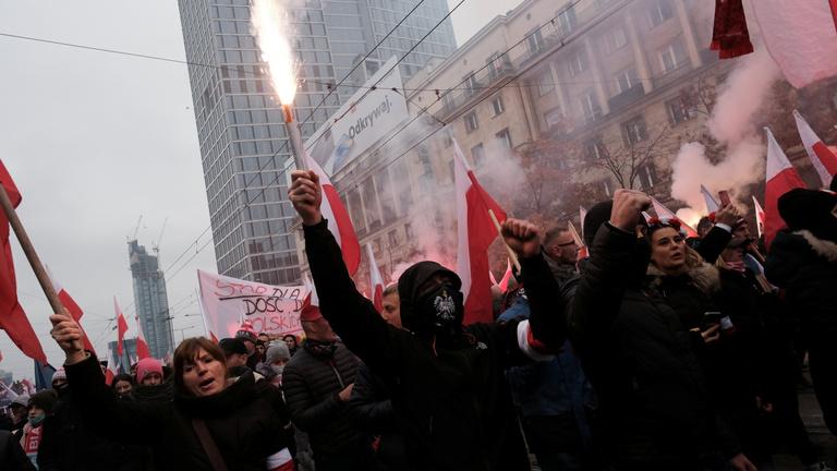 Zavargások törtek ki Varsóban