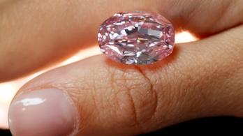Hétmilliárd forintos gyémánt talált gazdára percek alatt