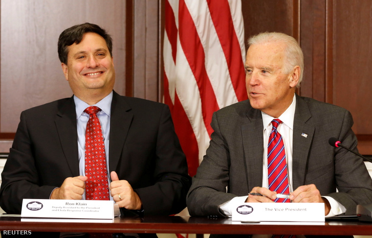Ron Klain ás Joe Biden 2014-ben