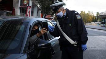 Görögországban péntektől éjszakai kijárási tilalmat léptetnek életbe