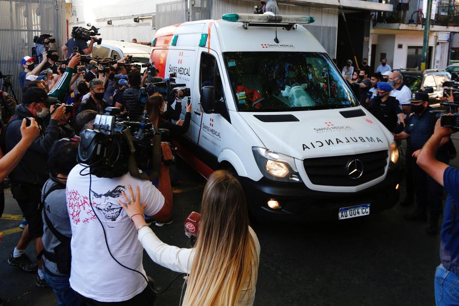 Kiengedték a kórházból Diego Maradonát