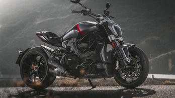 Pengén néz ki a frissített Ducati XDiavel