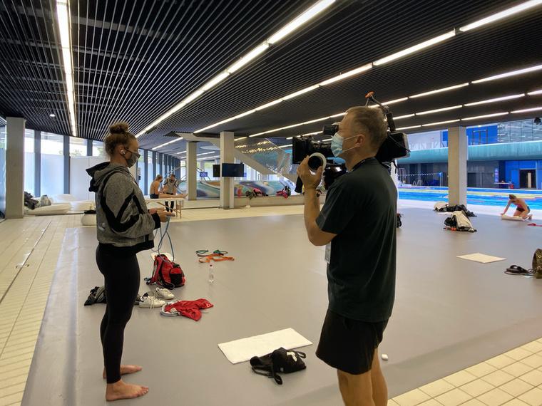 Január óta forog a Katinka című dokumentumfilm Hosszú Katinka olimpiai bajnok úszónő életéről