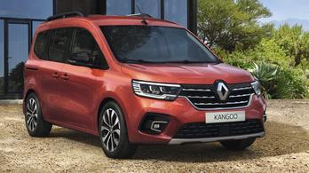 Megmutatták az új Renault Kangoot és Expresst