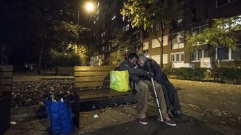 A hajléktalanoknak könnyebb nem lesz, de talán nehezebb sem