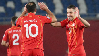 Goran Pandev kilőtte Észak-Macedóniát az Eb-re