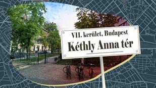 Ki volt Kéthly Anna, akiről Budapest egyik legújabb terét elnevezték?