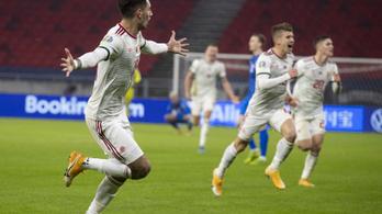 Szoboszlai Dominiké az Eb-pótselejtezők legszebb gólja