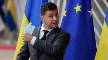 Kórházba került a koronavírusos ukrán elnök