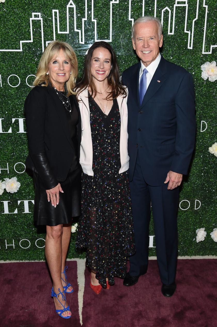 Jill és Joe Biden lánya, Ashley nagyon csinos nő.