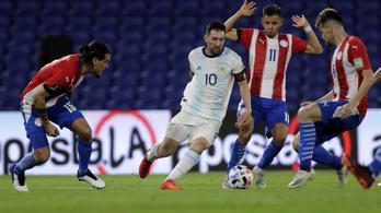 Először vesztett pontokat Argentína a vb-selejtezőben