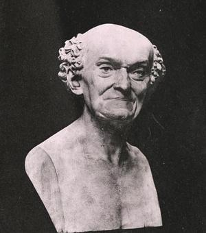 Joseph Dombey mellszobra
