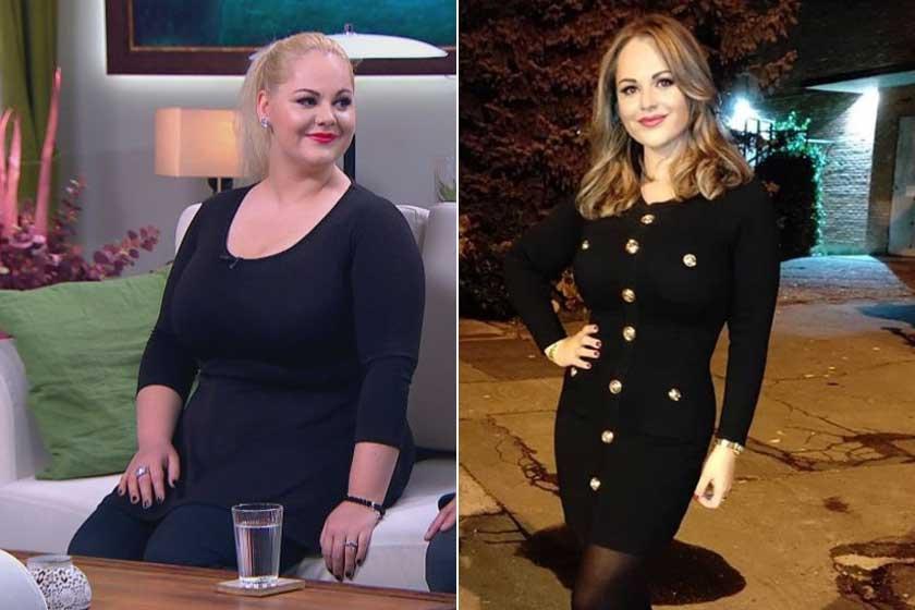 Fásy Zsüliett a 2018-as év elején tökélte el, hogy gyökeresen megváltoztatja a táplálkozási szokásait. Szép lassan, fokozatosan összesen 43 kilótól sikerült megszabadulnia.