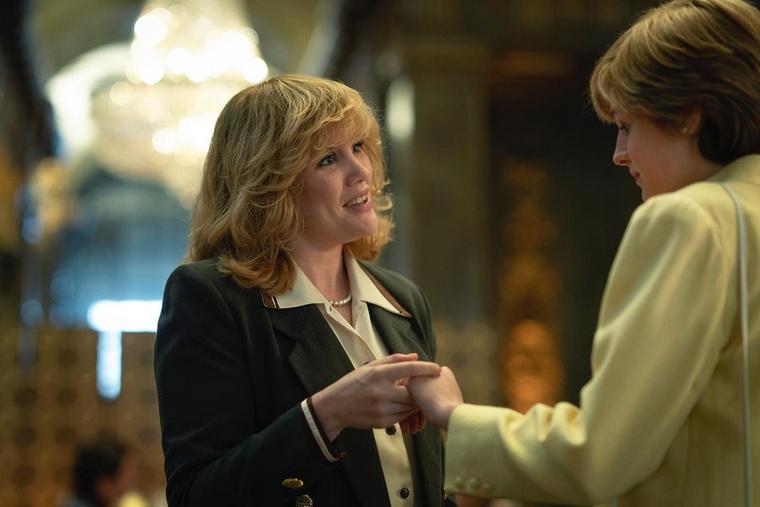 Károly herceg nagy szerelme, Camilla Parker Bowles már a harmadik évadban is feltűnt, a mostaniban is szerepelni fog