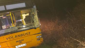 Rájár a rúd a Volánbuszra, 24 órán belül két járatát is baleset érte