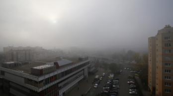 Hatalmas köd lesz és hideg