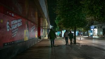 Bevezetik az éjszakai kijárási tilalmat Montenegróban