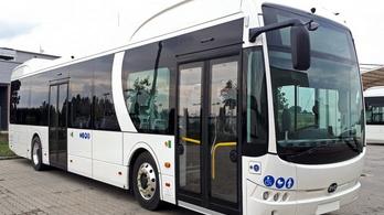 Érkezik az első tisztán elektromos meghajtású autóbusz a Volánbuszhoz