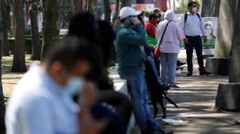 Már több mint egymillió fertőzött van Mexikóban