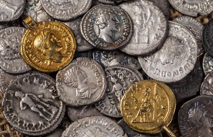 Ókori római pénzérmék