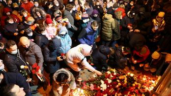 A belarusz rendőrség valószínűleg halálra vert egy tüntetőt